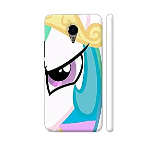 Colorpur Multicolor Princess Designer Mobile Phone Case Back Cover For YU Yunicorn   Artist: Neeja Shah