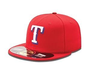 MLB Texas Rangers Alt AC On Field 59Fifty Baseball Cap by New Era