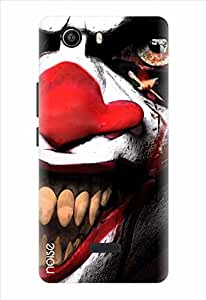 Noise Deadly Joker Printed Cover for Micromax Canvas Nitro 2 E311