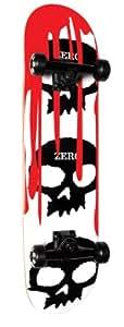 "Zero Skateboard complet Blanc 7.7x31.12"""