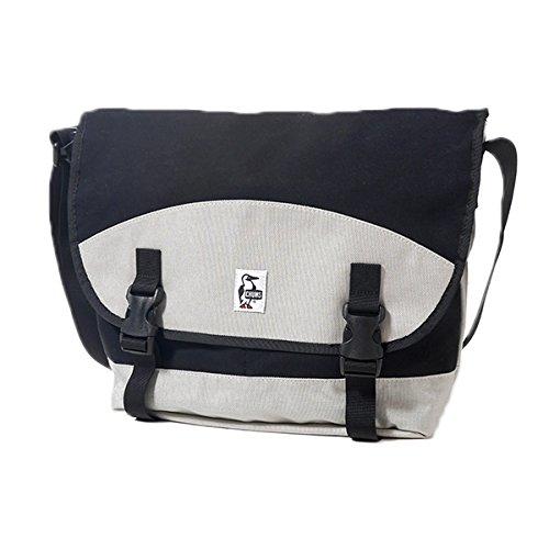 CHUMS チャムス メッセンジャーバッグ Skid Stop Messenger Bag CH60-0911 ショルダー バッグ 鞄 かばん スウェット ナイロン メンズ レディース 正規取扱品 (0S, 1.Black/Grey (2490))