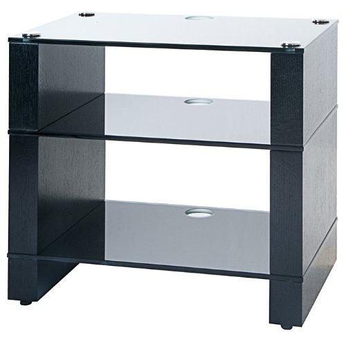 Cheap BLOK STAX DeLuxe 300 Three Shelf Black Oak Hifi Audio Stand & AV TV Furniture Rack Unit (B003AKFYNA)
