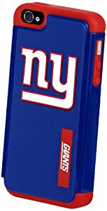 Forever Collectibles New York Giants Rugged Dual Hybrid Apple iPhone 4 & 4S Case by Forever Collectibles