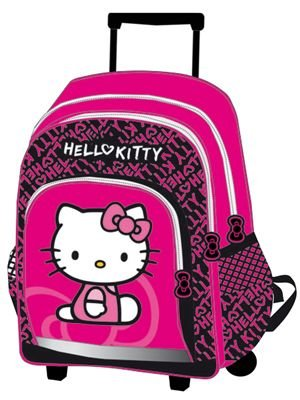 HELLO KITTY ZAINO CON ROTELLE, ZAINO TROLLEY/CARTELLA CON LICENZA SANRIO (27)