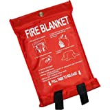 Quick Release Home Extinguisher Fibreglass Fire Blanket