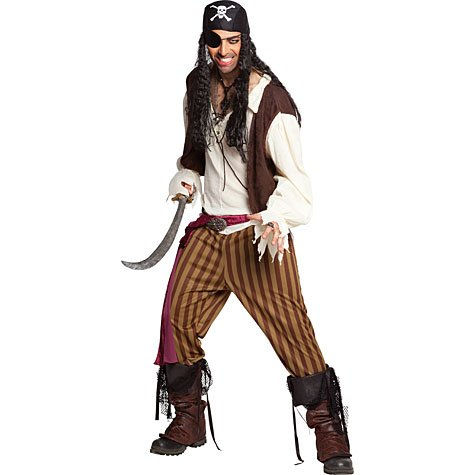 California Costumes Men's Rogue Pirate Costume