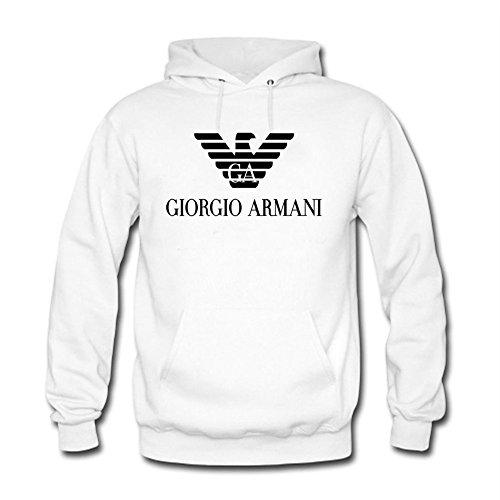 giorgio-armani-logo-sudadera-con-capucha-para-hombre-blanco-m
