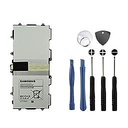 BinTEK Samsung Galaxy Tab 3 Battery Replacement 10.1 inch T4500E 6800mAH Li-Polymer Premium Samsung Tab 3 Battery Replacement 10.1 inch with Opening Repair Tool Kit / Compatible with Model P5200 P5210 P5220