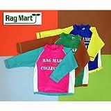 (ラグマート)RagMart ラッシュガード 長袖 95cm GREENグリーンEENグリーン