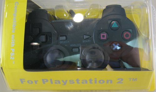 Playstation2 Analog Controller for Ps2 (Black Color)