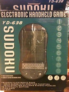 Sudoku Electronic Handheld Game - 1