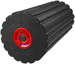 Medisana Power-Roll Faszienrolle mit Tiefenvibration (inkl. Übungs DVD)