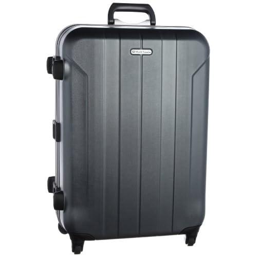 [ワールドトラベラー] World Traveler フェルミオン スーツケース 63cm・68リットル・4.7kg・日本製 04221 02 (ガンメタリック)