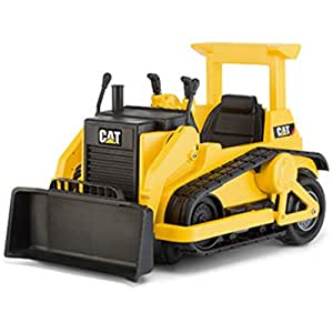 Kid trax cat bulldozer 12 volt battery powered for Best motorized cat toys