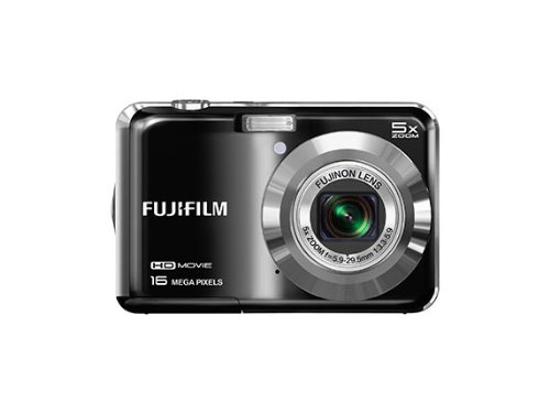 Fujifilm FinePix AX650 Digital Camera - Black (16 MP, 5x Optical Zoom) 2.7 inch LCD