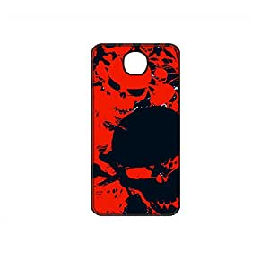Vibhar printed case back cover for Yu Yunique GrungeSkulls