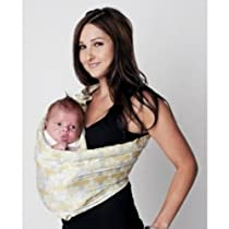Hotslings AP Baby Sling Lemon Mist Large with Bonus Rockin Green Soap and Tooth Tissue Samples