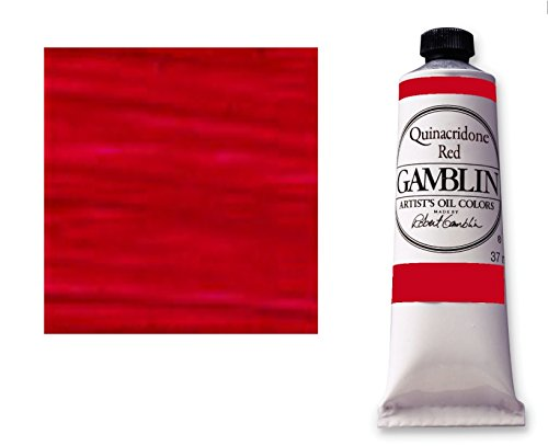 Gamblin fastmatte-alkyd oelfarbe chinacridon-rouge - 150 ml