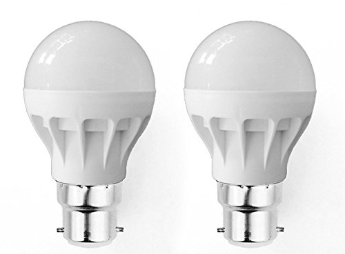 Super Eco 5W LED Bulbs (Cool White, Pack of 2)
