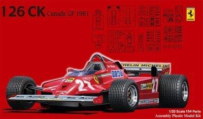 1/20 グランプリシリーズ GP4 フェラーリ126CK 1981 カナダGP