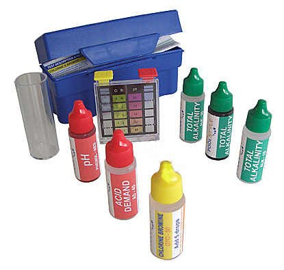 5-Way Swimming Pool & Spa Water Chemical Test Kit (Simple Blue Hot Tub Chemicals compare prices)