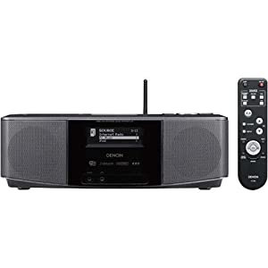 best buy denon s 32 internet radio with built in speakers and 2 alarm clock electronics. Black Bedroom Furniture Sets. Home Design Ideas