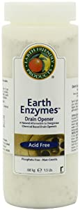 Earth Friendly Products Earth Enzymes Drain Opener, 1.5 lbs. Container (Pack of 6) at Sears.com