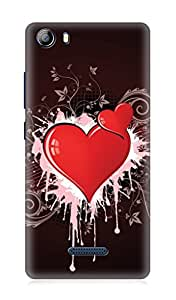 Micromax Canvas 5 E481 3Dimensional High Quality Designer Back Cover by 7C