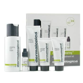 The set of Dermalogica Medibac Clearing Kit for Adult Acne
