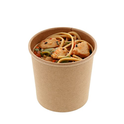 Royal 12 oz. Kraft Paper Food Containers, Package of 25 (Package Container compare prices)