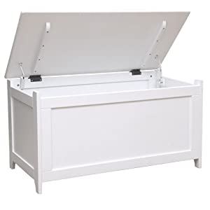 kidiway toy chest white baby. Black Bedroom Furniture Sets. Home Design Ideas