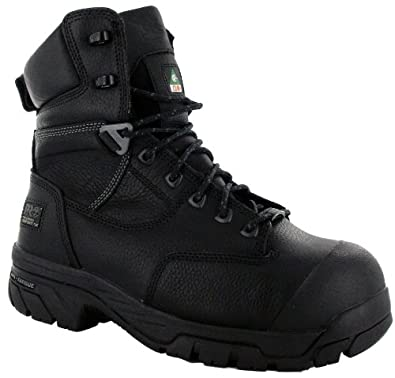 Timberland Pro Men's HELIX Black Work Boots 7 W