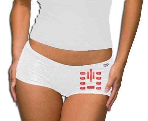 Touchlines calze donna - T-Shirt Knight Rider sallerturin - mastice Control, white, XXL, PT248