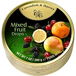 Cavendish & Harvey Mixed Fruit Drops 200g QUALITY BRITISH FOOD 0102