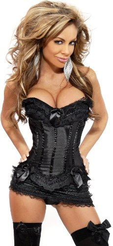 Daisy Corsets Women's Burlesque Corset and Skirt Set