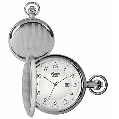 Rapport Pocket Watch PW71 Silver Tone Full Hunter