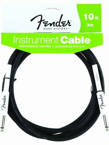 Fender Performance Guitar Cable 10' Black