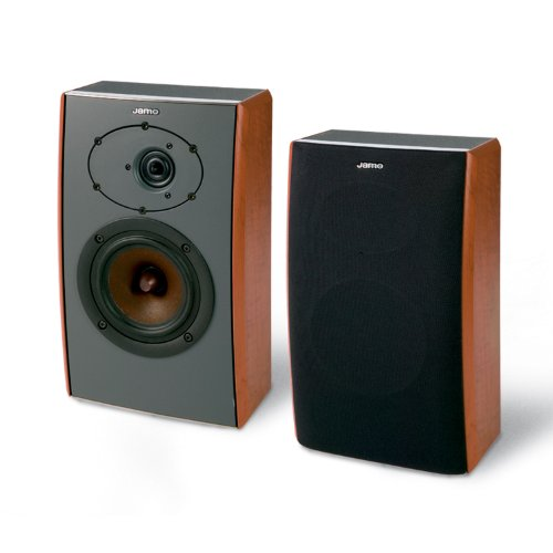 D 400 Jamo Bookshelf Speaker Black (Single Speaker)