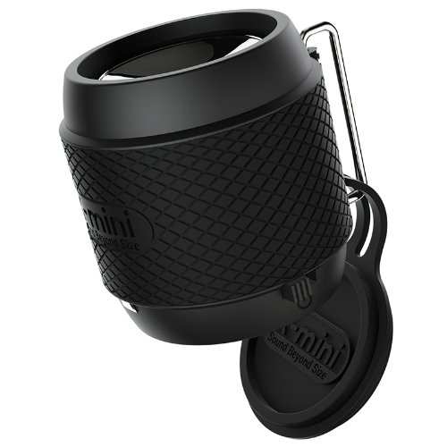 X-Mini Xam16-Gm-B Me Micro Portable Capsule Speaker (Gun Metal)