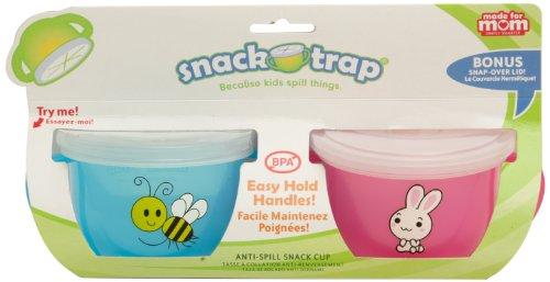 Mossworld Enterprises Made For Mom Snack-Trap, Girl, 2-Count front-654675