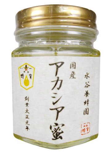 水谷養蜂園 国産アカシア蜜 120g