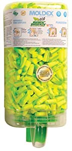 Goin' Green Disposable Foam Earplugs PlugStation, 6620 Earplugs Uncorded