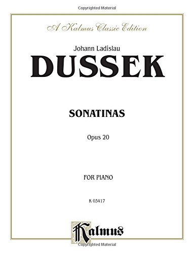 Sonatinas, Op. 20 (Kalmus Edition)
