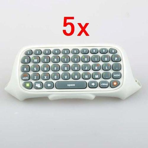 Neewer 5x Controller Messenger Keyboard Live ChatPad For Xbox 360 dobe wireless keyboard chatpad for x box one controller