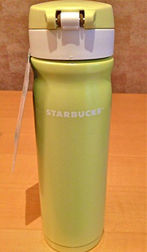 Starbucks Stainless Steel Travel Tumbler Thermos Mug - Malaysia Limited Edition, Lime Green, 17 Fl Oz