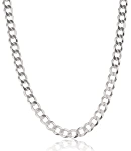 JOTW 925 Sterling Silver 9mm Prolux Cuban Chain (24 Inches)