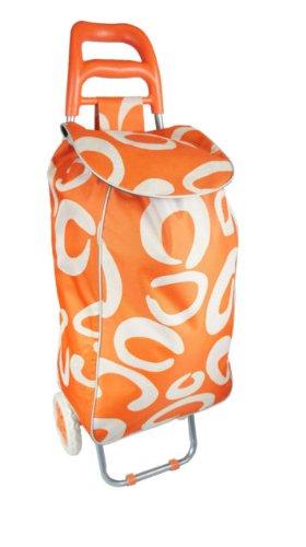 New 60L Large Folding Wheeled Trolley Lightweight Shopping Bag Fold Away Shopper Cart