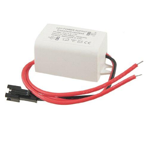 Ac 110-220V Dc 6-12V 300Ma Driver Power Supply Adapter Fot 3X1W Led Strip Light