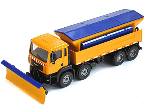 Damara Snowplow Truck Car Model Toys