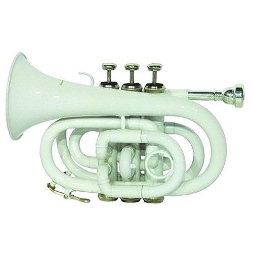 Dimavery 26503730 TP-300 B-Pocket-Trompete weiß